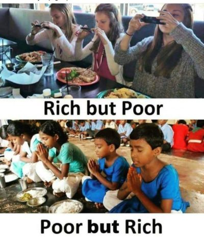 Rich but poor