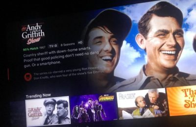 The Netflix description for the Andy Griffith Show. Good show though, very wholesome