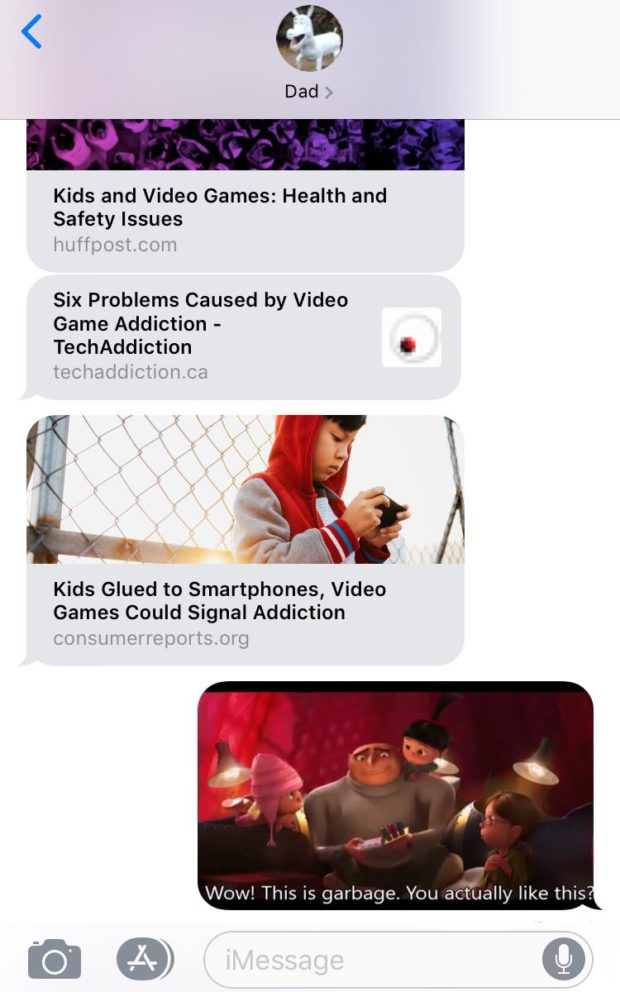 < as Dad > Kids and Video Games: Health and Safety Issues lwilposlcom Six Problems Caused by Video Game Addiction - TechAddiction O techaddlctlonca fl Kids Glued to Smartphones, Video Games Could Signal Addiction in! old - .— CO Y'lSLllil-Q E14300 l'lS . 0 lg https://inspirational.ly