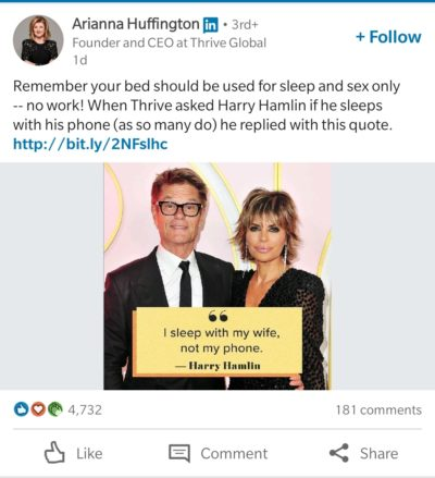 Arianna Huffington and Harry Hamlin hate phonosexuals.