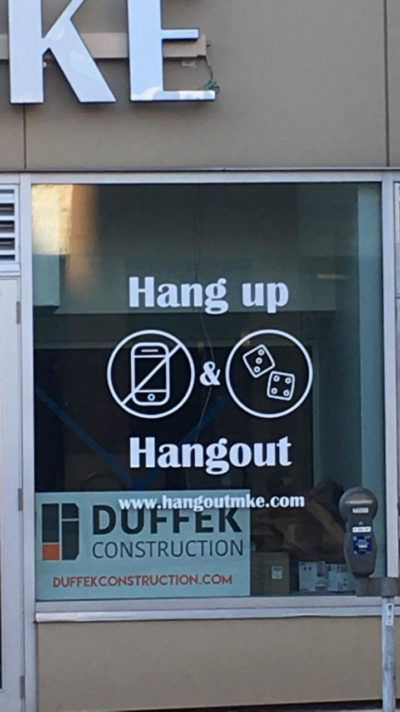 Hang up and hang out!