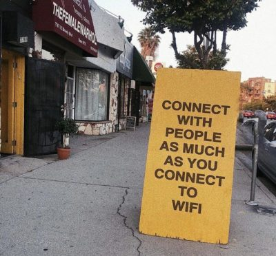 Or connect to people.. to connect to their WiFi.