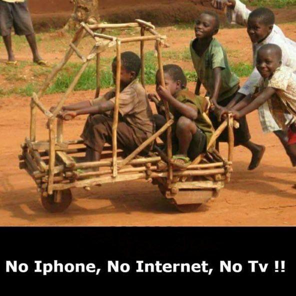 No Iphone, No Internet, No Tv !! https://inspirational.ly