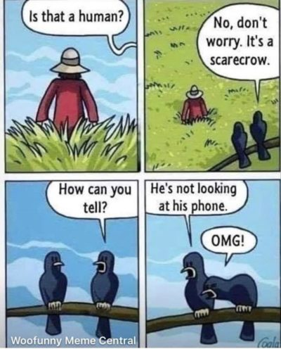 This comic my aunt shared on Instagram