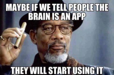 Brain good app bad