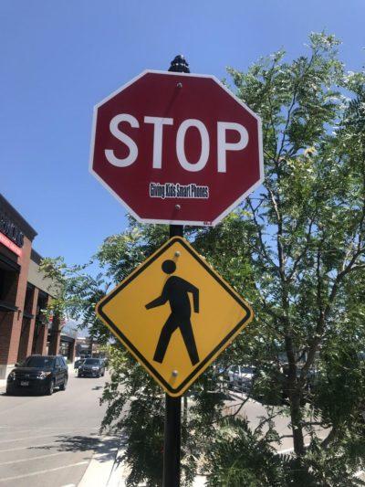 STOP defacing public property
