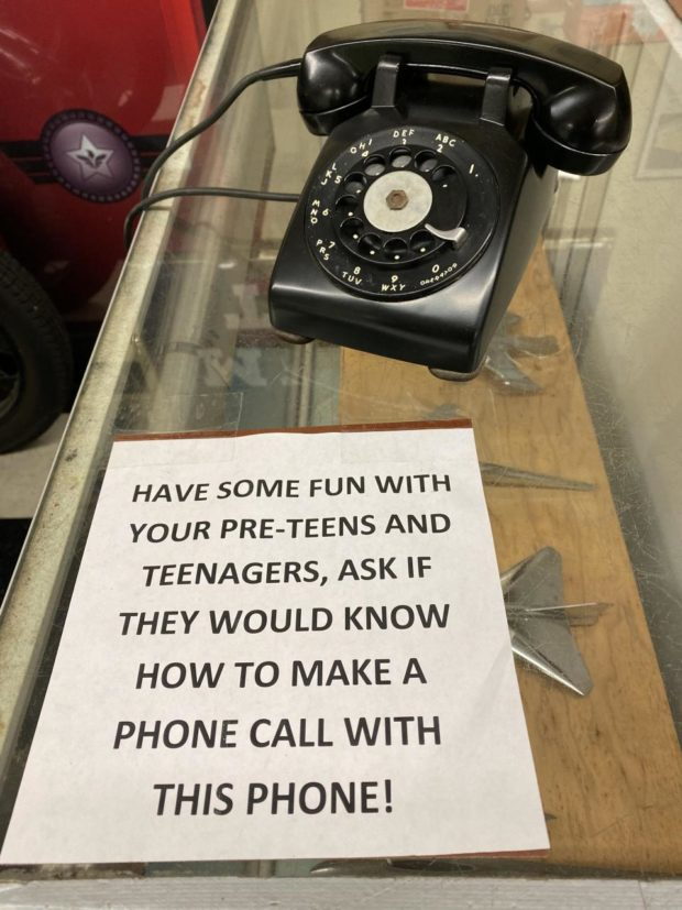 HAVE SOME FUN WITH YOUR PRE-TEENS AND TEENAGERS, ASK IF THEY WOULD KNOW HOW TO MAKE A PHONE CALL WITH THIS PHONE! https://inspirational.ly