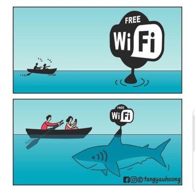 Wifi bad, it's a trap