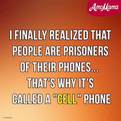 "Be wary of cellular I mean ""CELL"" Phones"