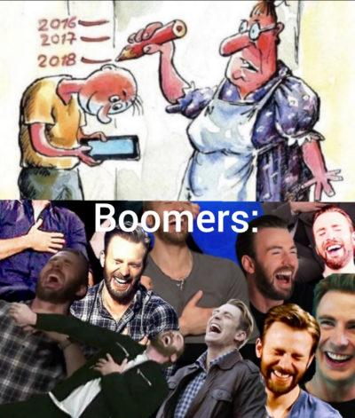 Shut up BOOMER
