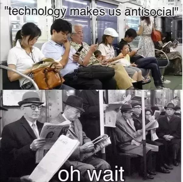 """technolo'gyk makes us antiseCIal"" I ' . . I . I ' .  . 7;. .7:  A! https://inspirational.ly"