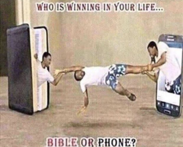 "WHO EWINMNG IN YOUR LIFE... )- '9'me BIB! E""OR PHONE?' https://inspirational.ly"