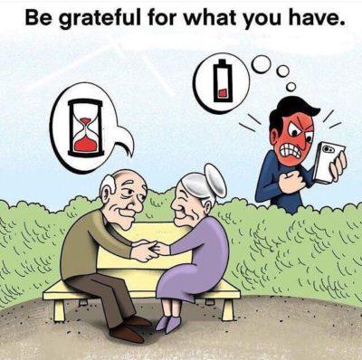 Phones bad, old people good
