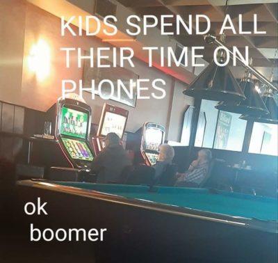 Boomer hypocrisy