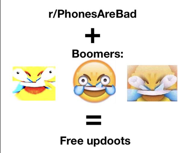 r/PhonesAreBad + Boomers: m J i https://inspirational.ly