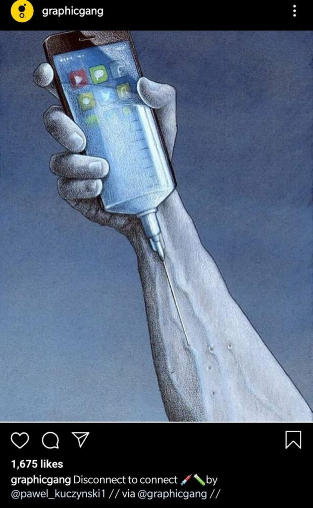 1,675 likes graphicgang Disconnect to connect I by @pawel_kuczynski1 // via @graphicgang // https://inspirational.ly