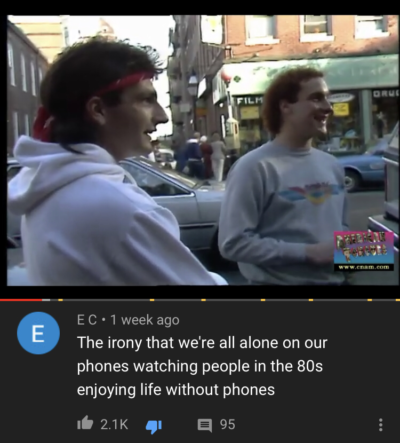 On a YouTube-video from 1985