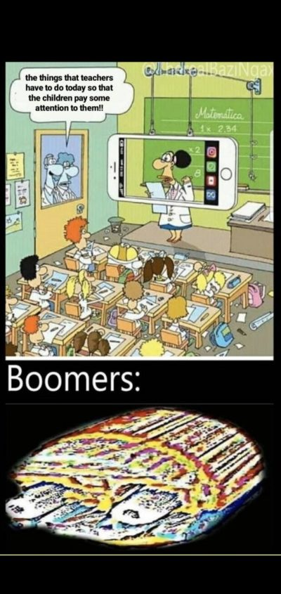 Phones bad, boomers good