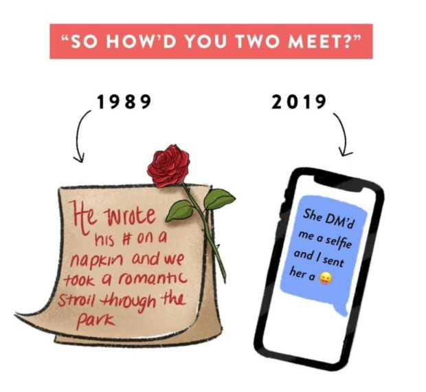 """""""SO HOW'D YOU TWO MEET?"""" 2019 https://inspirational.ly"""