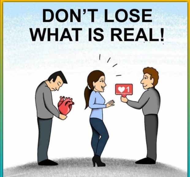 DON'T LOSE WHAT IS REAL! '/ / xéég 05$ .1 £9 a? I ) Lb ' https://inspirational.ly