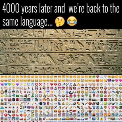 tbh i dont see people communicating emoji only