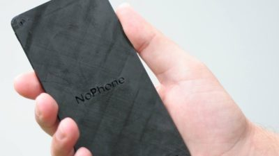 "The ""NoPhone"", its fully made out of plastic and is a ""technology-free alternative to constant hand-to-phone contact that helps you stay connected to the real world"""