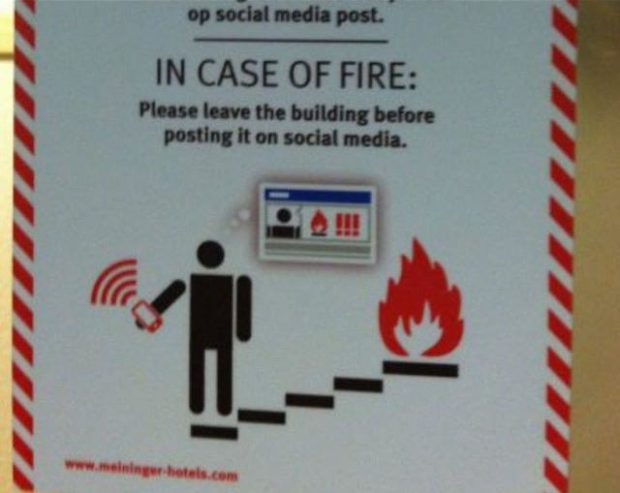 (1/111111111114 quad-duped: IN CASE OF FIRE: Mummy-mum Magnum-can. https://inspirational.ly