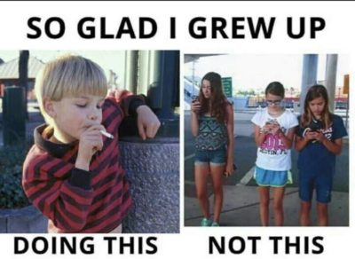 The right way to grow up