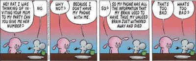 Phone Make Brain Wither.