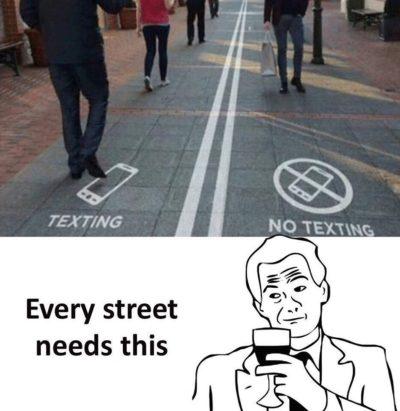 texting = bad