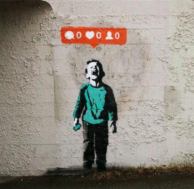 Nobody likes me , Banksy , Street Art , 2019
