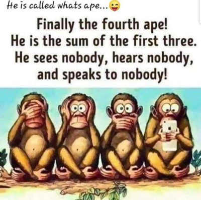 He is called whats ape…😜