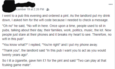 Little gem from a relative of mine this sub reminded me of from before Xmas