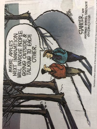 A comic I found in the newspaper today