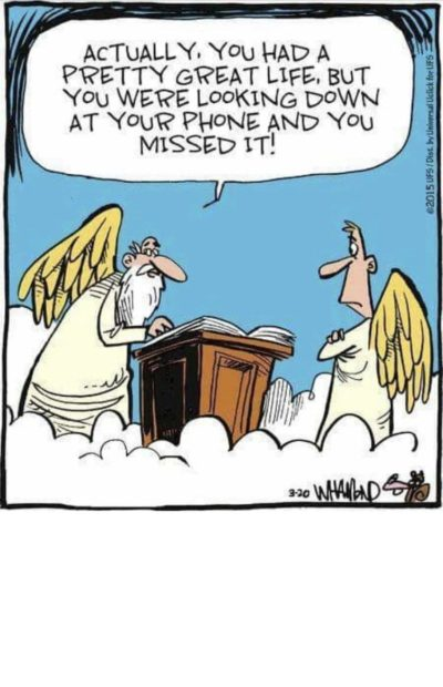 "80 year old man posted on Facebook. Captioned: ""When millennials get to heaven when they get old and die."""