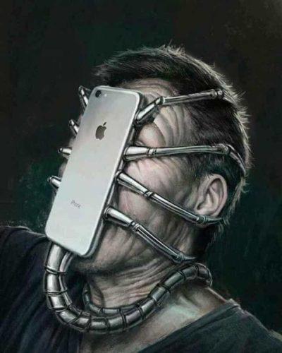 Phones are aliens?