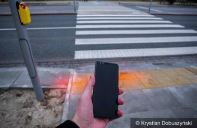 Lights are going to be installed in the capital city of Poland that will light the ground before zebra crossings to warn 'smartphone zombies'. What do y'all think?