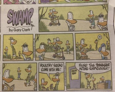 Found this cartoon in my newspaper