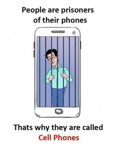 CELL phones = bad 😔