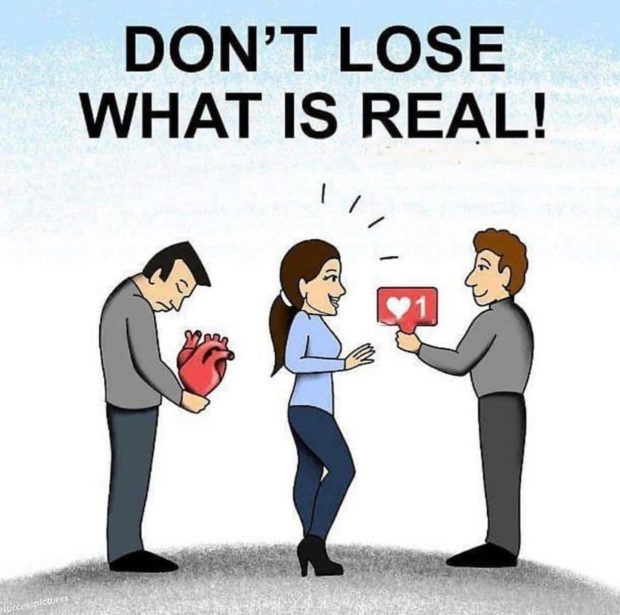 DON'T LOSE WHAT IS REAL! https://inspirational.ly