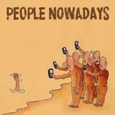 """People nowadays"""