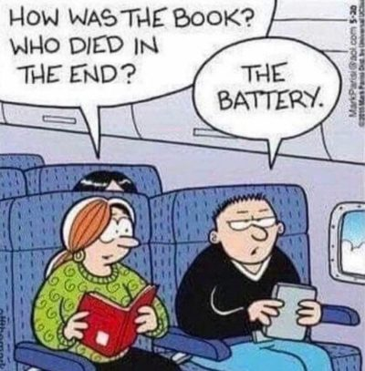 Shared by my great aunt today. Book good. Tablet bad.