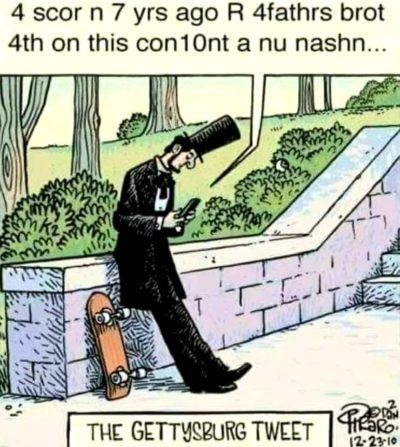 Gettysburg Tweet