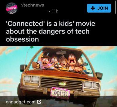 Phone bad movie good