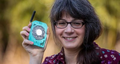 Engineer Makes a DIY Cell Phone With Rotary Dial So She Doesn't Have to Use a Smartphone