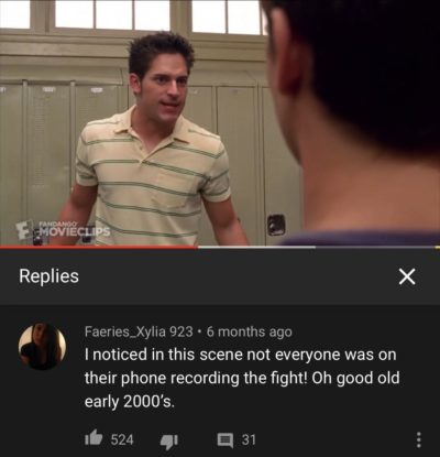 Found this in the comment section of a scene from Spiderman