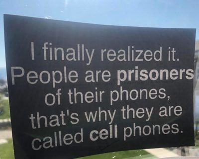 Phones are prisons