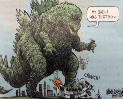Godzilla phone