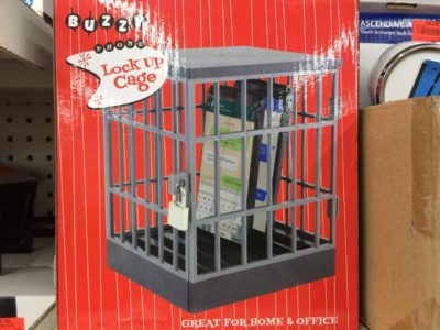 A phone prison, for when it does illegal things by itself