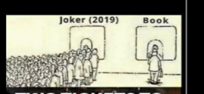 Joker bad book good
